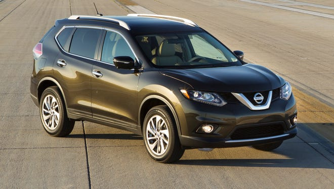 The 2014 Nissan Rogue crossover SUV, built on a platform jointly developed with Nissan affiliate Renault, is expected to contribute to strong Nissan earnings this year.