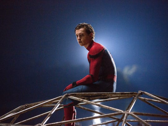 Tom Holland's web slinger in 'Homecoming' is a superhero
