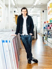 Contemporary artist Ryan McGinness will be at Cranbrook Art Museum on Saturday.