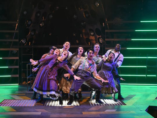The Warehouse Theatre's production of Spring Awakening