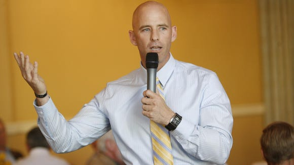 Pinal County Sheriff Paul Babeu is running for the 1st Congressional District.