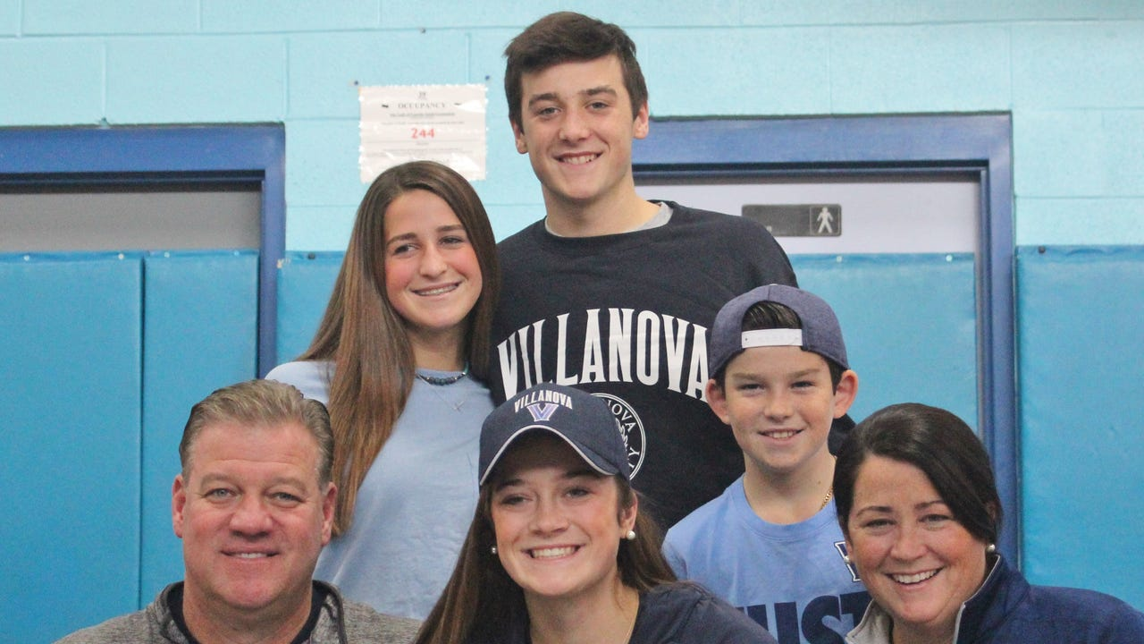 Lourdes basketball star discusses her progress from a CYO B-team player to Division I commit, and her teammates talk potential and teeth-pulling.