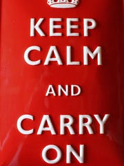 Keep calm and carry on, or fork on .. or chive on.
