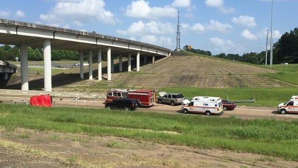 Fatal wreck on I-55 Saturday.