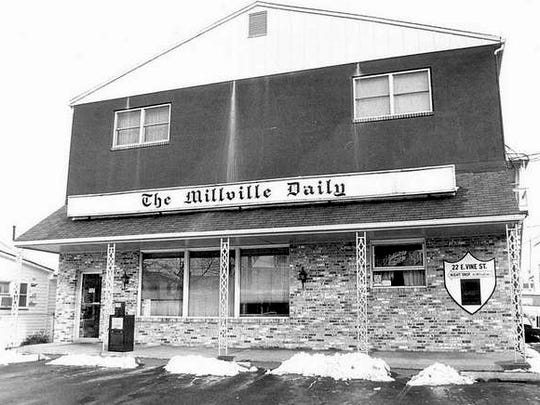 The office of The Millville Daily in a file photo from the early 1980s. In 1988, the Vineland Times Journal and The Millville Daily were combined into The Daily Journal.