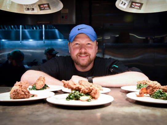 Chef Dallas McGarity of The Fat Lamb