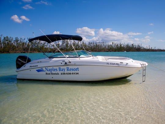 The Marina at the Naples Bay Resort, a fully operational