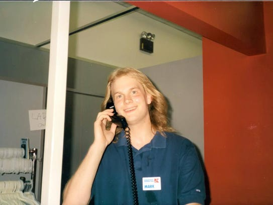 Mark Davis at Kmart in the early 1990s