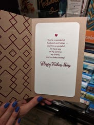 American greetings sorry for baby daddy card sold at target others american greetings apologized for this 2018 fathers m4hsunfo
