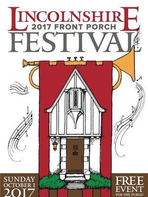 2017 Lincolnshire Front Porch Festival logo