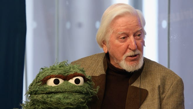 "Big Bird and Oscar the Grouch puppeteer Caroll Spinney was the special guest at his wife's ""I Married Big Bird"" panel at Gen Con."