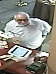 Marco Island Police say they would like to question this man in connection with bogus $100 bills passed at four Marco salons and an ice cream shop.