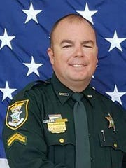 Corporal Bobby Hunter is the commander of the Community Policing Unit in Bonita Springs. The LCSO deputy is one of five finalists for this year's Officer of the Year award presented by the Rotary Club of Fort Myers South.