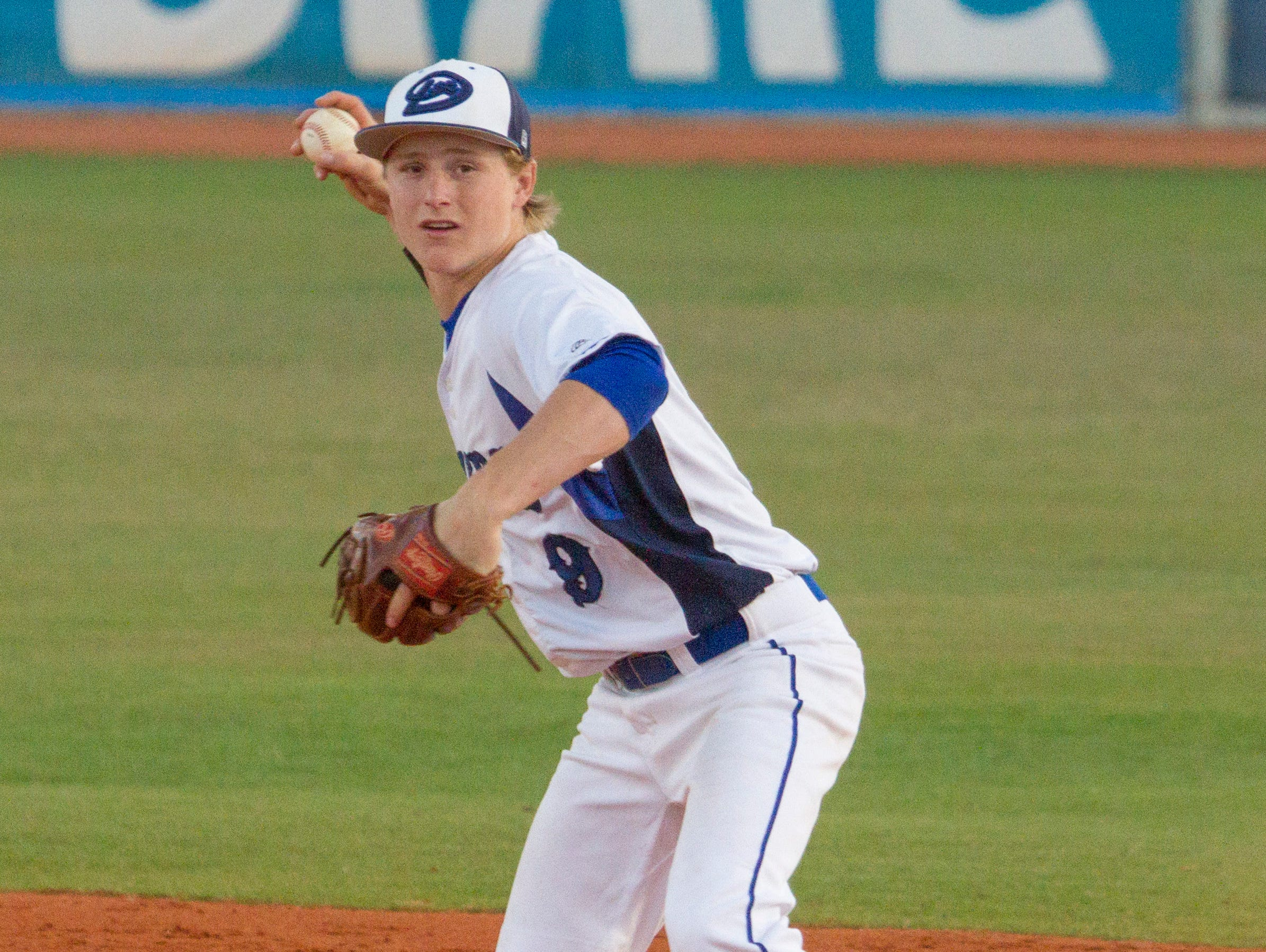 Dixie's Hobbs Nyberg had the game-winning hit in Tuesday' 3-2 come-from-behind victory over Cedar in the Region 9 opener.