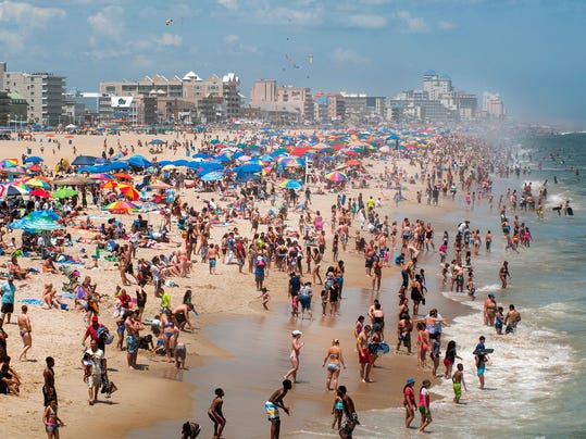 4th of July Weekend Ocean City - 2013