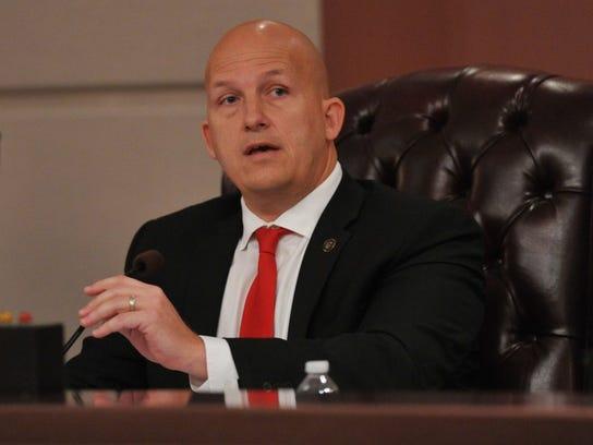 Mayor Greg Oravec.