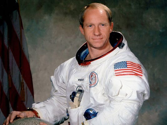 Astornaut Al Worden Apollo 15