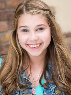 Kristi Beckett, a student at St. Edward's School, will star in a Nickelodeon series debuting this fall.