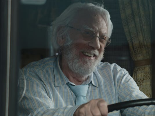 "Donald Sutherland stars in ""The Leisure Seeker."""