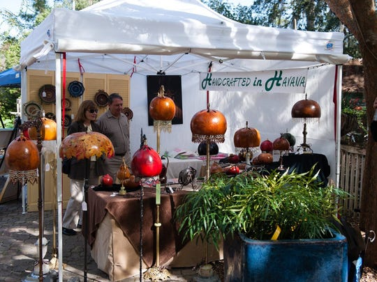The annual Artisans in the Garden event will return to Tallahassee Nurseries on Saturday.