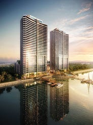 Allure is expected to have 280 units in two towers.