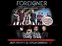 Buy 1, Get 1 Free on Foreigner Tickets