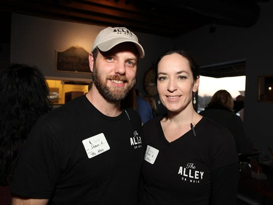 Shawn and Christy Hackinson opened The Alley on Main in 2014.