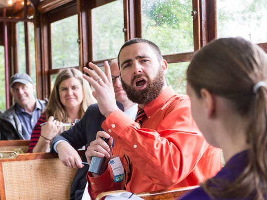 Ray Chard, a master's student at CSU, won $2,000 for pitching his tutoring app Chem with Ray aboard the historic Fort Collins trolley on May 29 as part of the CSU Blue Ocean Enterprises Challenge.
