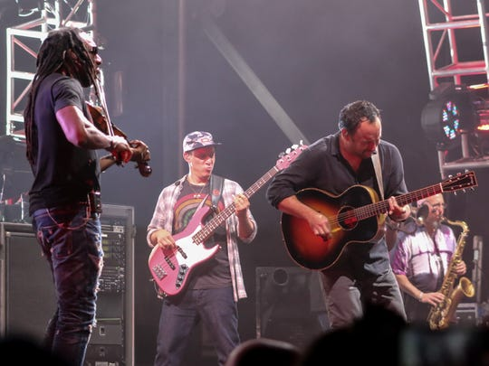 Dave Matthews Band peforms at the Amphitheater at The