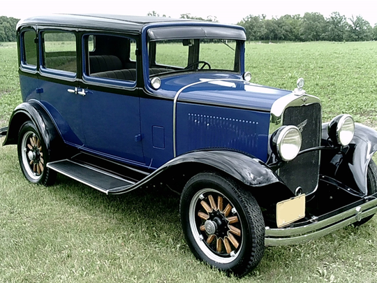 This 1931 classic sedan is set to be auctioned at Barrett-Jackson