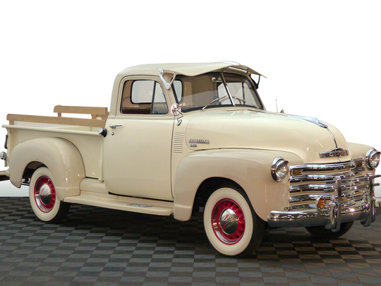 This classic pick-up was used as a display vehicle