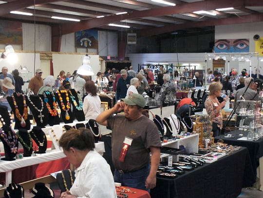 The Rockhound Roundup draws thousands of visitors during the second weekend in March, as hosted by the Deming Gem & Mineral Society. This year's Roundup is slated for March 7-10, at the Southwestern New Mexico State Fairgrounds.