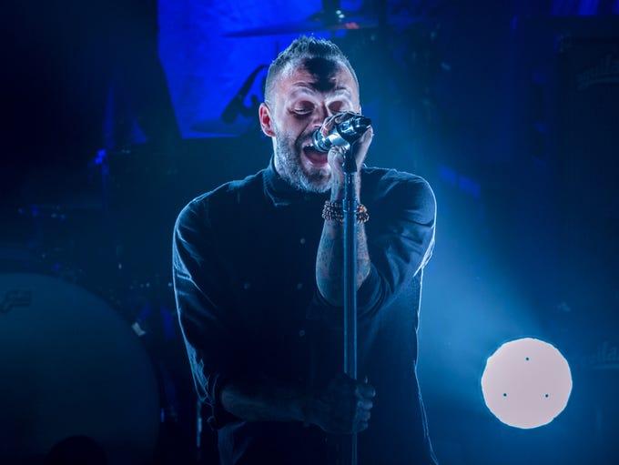 Blue October performs at Vinyl Music Hall on Thursday,