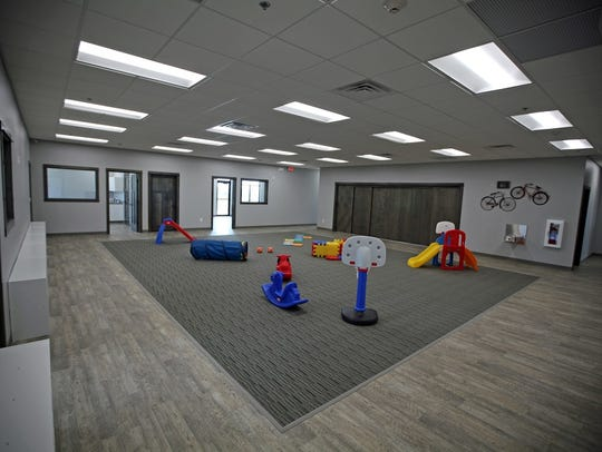 Creative Steps Childcare Center will have several rooms
