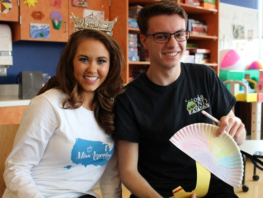 Cara Mund, Miss America 2018 and National Goodwill