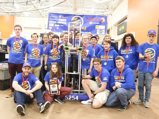Ulysses Town Talk Trumansburg Robotics Team At World Championship