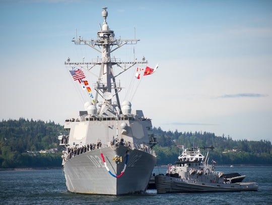 Everett, Wash. (June 08, 2016) The Arleigh Burke-class
