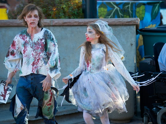 The Old Town Zombie Fest in Fort Collins Saturday, Oct. 25, 2014.