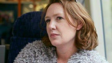 Author Paula Hawkins is still riding the gravy 'Train.'