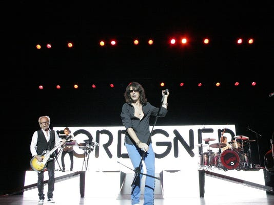 Foreigner took the Pullo Center stage on Oct. 16, 2010. During the show, the Dallastown High School choir sang backup to  I Want to Know What Love Is.