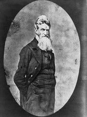 Abolitionist John Brown is shown shortly before his death by hanging. Virginia Gov. Henry A. Wise  officially approved his execution on Dec. 2, 1859.