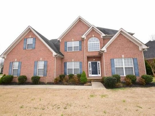 This house, at 203 Eclipse Drive in Murfreesboro, was
