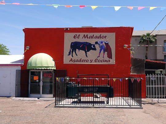 Exterior of El Matador Asadero y Cocina in Phoenix.