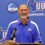 UWF women's soccer coach Joe Bartlinski has been all smiles after watching his team roll through the GSC and clinch a tournament spot Sunday in home finale win.