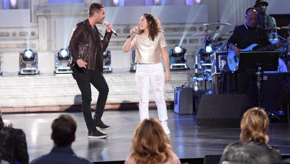 """Nick Fradiani and Gianna Isabella petrone on """"American"""