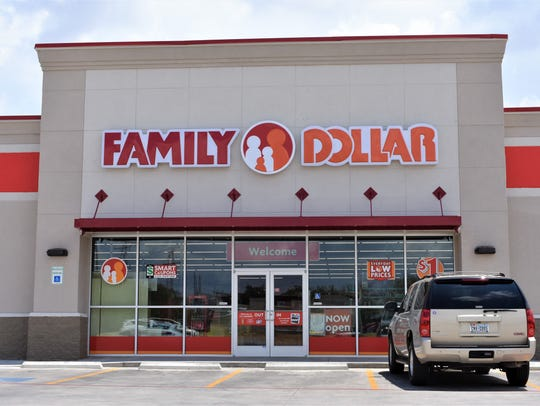 The front of the Family Dollar on July 9, 2018 at 2014