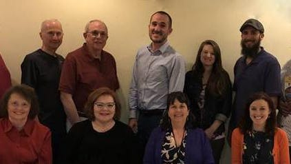 Pictured are the members of the 2019 Walk/Run committee as the pandemic prevented in person meetings and photo opportunities this year. In photo front row from left are: Sandy Orlando, Audrey Brozena, Theresa Langan, Amber Loomis, FSA Chief Advancement Officer. Back Row: Tom Foley, Tom O'Neil, Bob Silvi, Justin Brown, Co-Chair; Meghan Flanagan, Ben Eaton, Committee Chair; and Ahmad Ali.