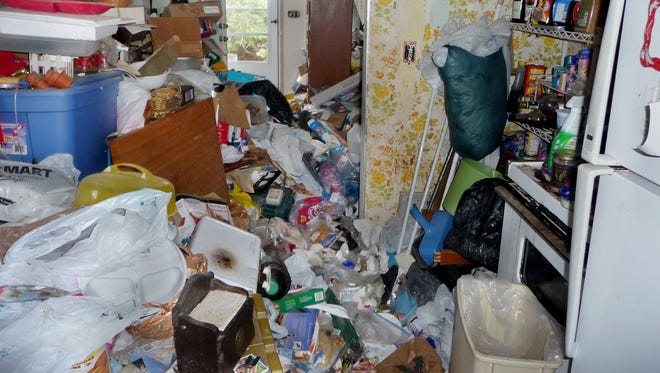 The Wood County Health Department investigated a home where hoarding occurred.