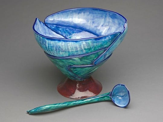 The Foothills Craft Guild's 51st Annual Craft Fair will feature works like this one from Bill Lee.