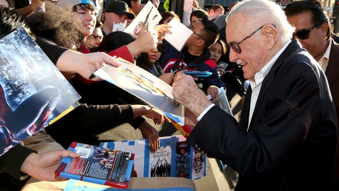 Stan Lee will sign autographs as the special guest at Comic Con Palm Springs
